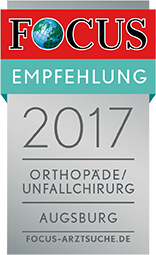 Focus Emfpehlung Arzt Orthopäde Sportmedizin 2017 - Oehler